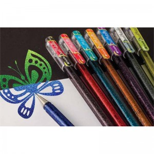 pentel dual hybrid metallic pens