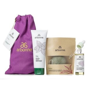 NEW! Limited Edition! Mint Cooling Facial Gift Set #5414_Fullsize Product Image